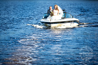 Newlyweds on the Lake