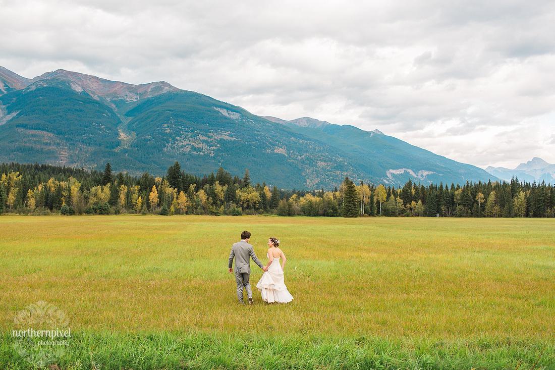 Tete Jaune British Columbia Rock Mountain Wedding