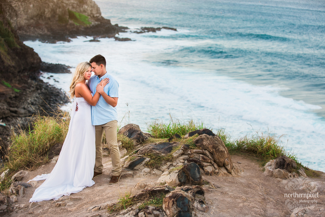 Maui Wedding Photographers, Maui After Wedding Photo Session, Prince George Photographer